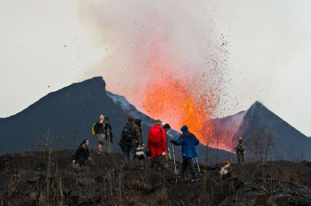 About Mount Nyiragongo Volcano Eruption Congo Active Lava Lake